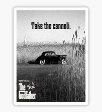 The Godfather Take the Cannoli Sticker