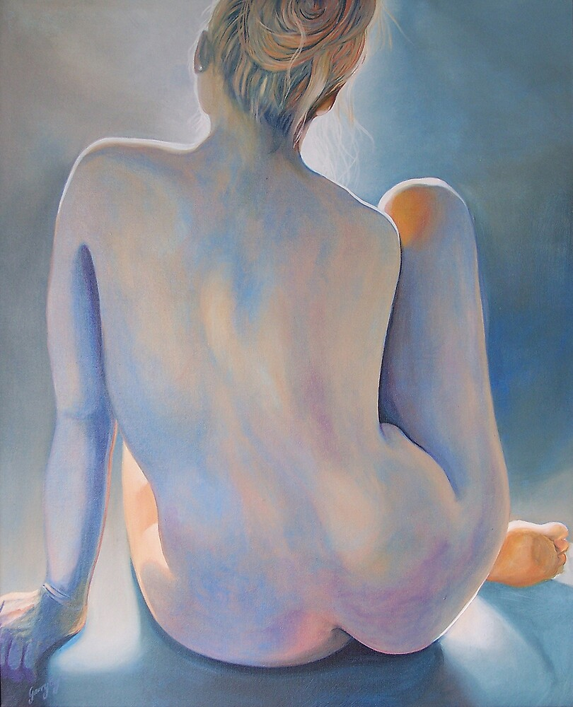 Blue Nude by Garry Eyre