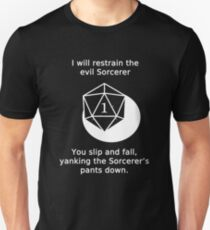 D20 Critical failure - Grapple Unisex T-Shirt
