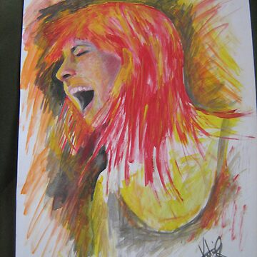 Hayley williams painting by katiee