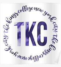 TKC - The King's College New York City Ink Circle Poster