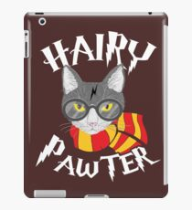 Hairy Pawter Funny Cat Parody iPad Case/Skin