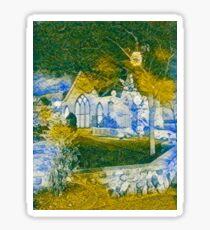 Ghostly Church  Sticker