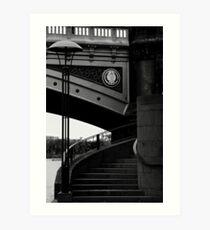 Southbank Steps 2 Art Print