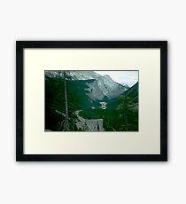 Rocky Mountain Drive Framed Print