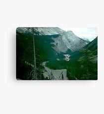 Rocky Mountain Drive Canvas Print
