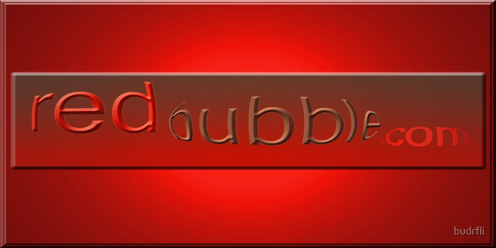 logo red by budrfli