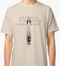 eleven and demogorgon stranger things Classic T-Shirt