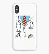 Doctor Costume - Halloween iPhone Case/Skin