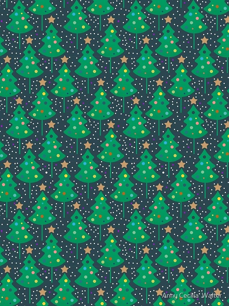 Christmas tree by AnnyCeciliaWalt