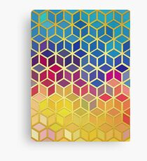 Art with gold 04 Canvas Print