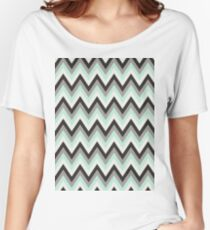 Colorful chevron Women's Relaxed Fit T-Shirt