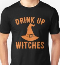 Drink UP Witches Funny Halloween T-Shirt