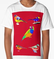 Song Birds Long T-Shirt