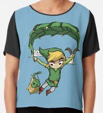 Legend Of Zelda - Wegfliegen Chiffontop