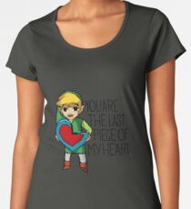 Legend Of Zelda - The Last Piece Women's Premium T-Shirt