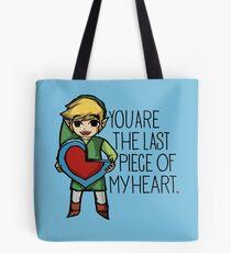 Legend Of Zelda - The Last Piece Tote Bag