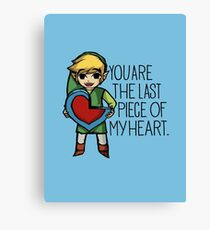Legend Of Zelda - The Last Piece Canvas Print