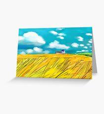'Prairies' Greeting Card