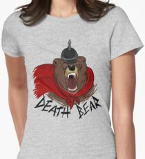 Death Bear Women's Fitted T-Shirt