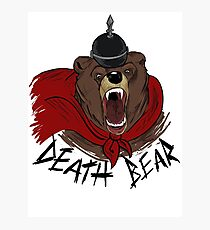Death Bear Photographic Print
