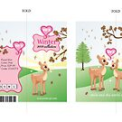Hang tag concept design for girls clothing lable. by Bianca Stanton