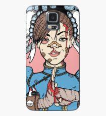 Kampf wie ein Mädchen - Chun Li (Street Fighter) Hülle & Skin für Samsung Galaxy