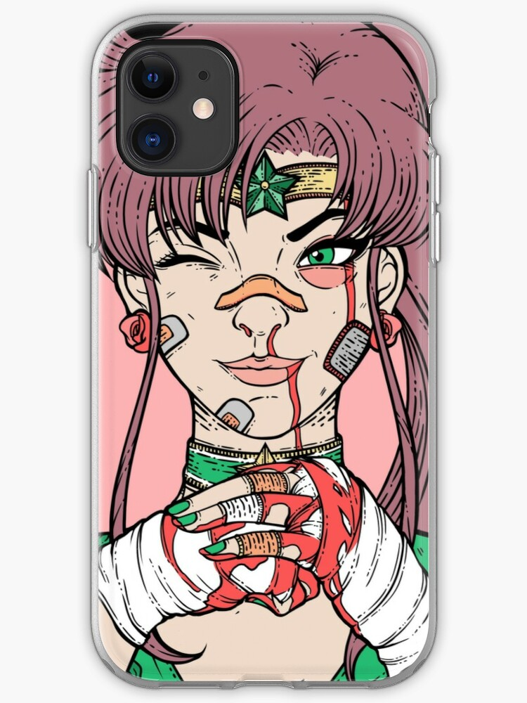 Sailor Moon- Fight Like a Girl iPhone 11 case