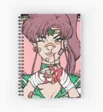 Sailor Moon- Fight Like a Girl (Sailor Jupiter) Spiral Notebook