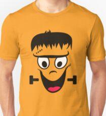 Frankenstein Face - Funny halloween T-Shirt