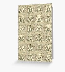 Siskiyou Trees Knit Greeting Card