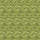Green Zig-Zag Knit by Lee Meredith
