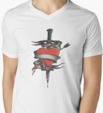 TrueLove Mens V-Neck T-Shirt