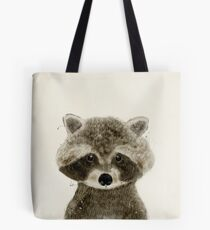 little raccoon Tote Bag
