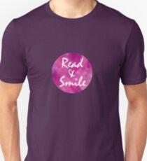 Read & Smile Unisex T-Shirt