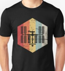 Retro ISS International Space Station Icon Unisex T-Shirt