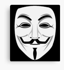 Guy Fawkes Canvas Print