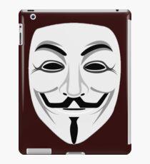 Guy Fawkes iPad Case/Skin