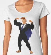 Hercules in a Suit Women's Premium T-Shirt