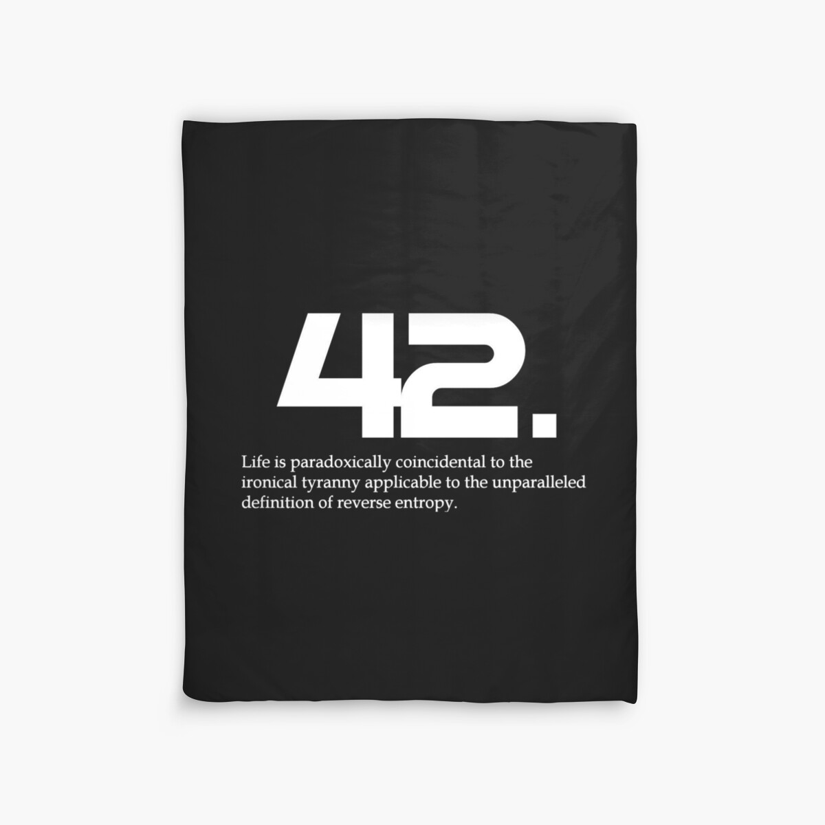 Quot The Meaning Of Life Is 42 Hitchhiker S Guide To The