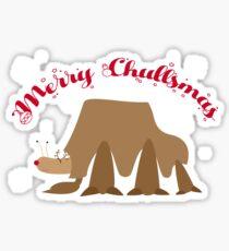 Merry Chullsmas!  Sticker