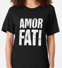 Amor Fati   Stoicism  Slim Fit T-Shirt