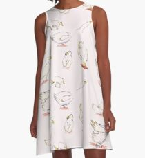 Pekin Ducks A-Line Dress