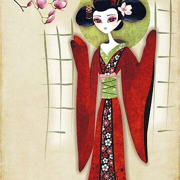 Sakura Girl by sandygrafik