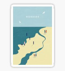 Nordsee  Sticker