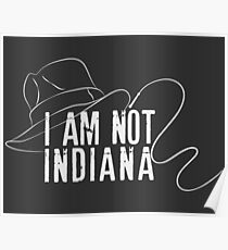 I am not Indiana #3 Poster