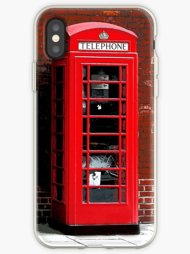 Red Phone Box- London England UK by NaturePrints