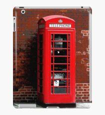 Red Phone Box- London England UK iPad Case/Skin