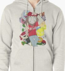 Kevintendo Merch for the Kevintendo Fan! Zipped Hoodie