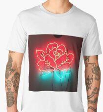neon rose Men's Premium T-Shirt